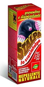 Rimedi anti talpe stalpa repellente naturale for Rimedi contro le talpe