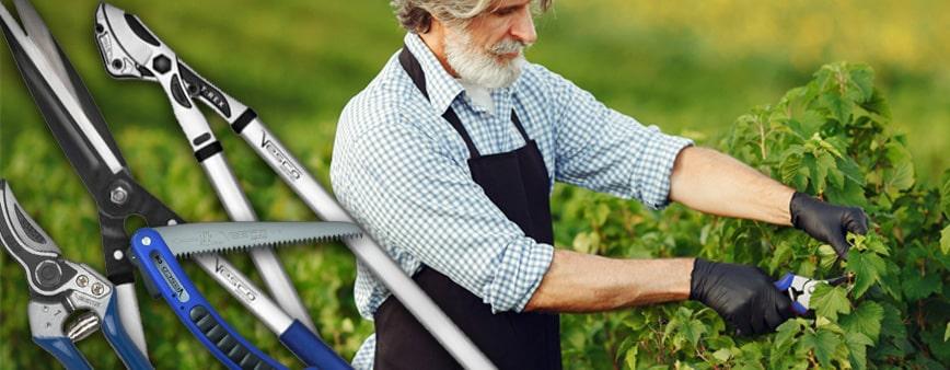 Attrezzi per potatura Vesco: Forbici per potatura a mano, cesoie e troncarami indispensabili per l'uso professionale e fai da te