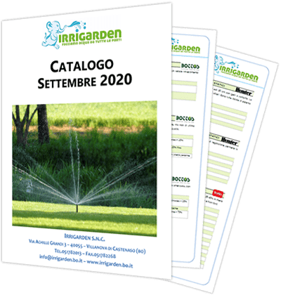 catalogo prodotti irrigazione giardinaggio bologna