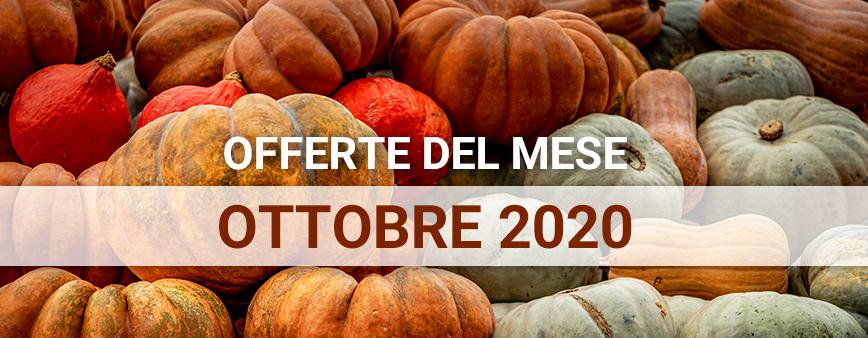 Offerte del mese Ottobre 2020 su prodotti di irrigazione