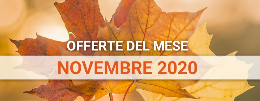 Offerte del mese Novembre 2020 su prodotti di irrigazione