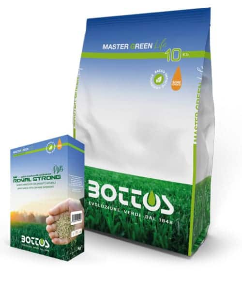 Semente per prato Bottos Master Green Life ROYAL STRONG PLUS