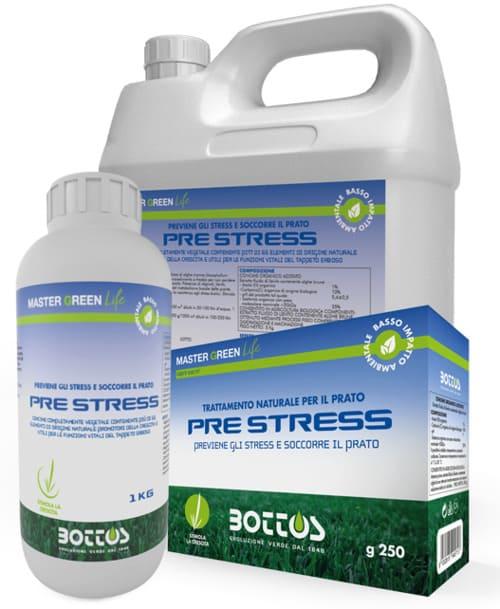 Biostimolante per prato Bottos Master Green Life PRE STRESS